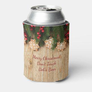 Cerveja do Natal do país/refrigerador da soda Porta-lata