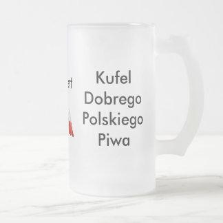 Cerveja do polonês da caneca de cerveja