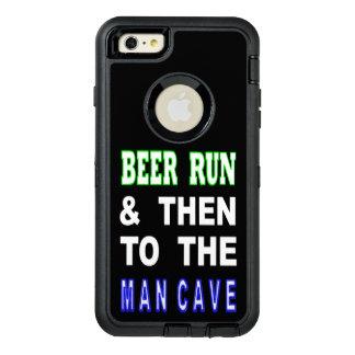 Cerveja funcionada & então à caverna do homem