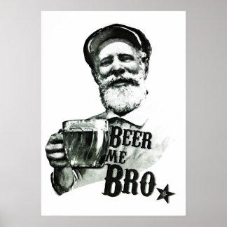 Cerveja mim Bro Posters