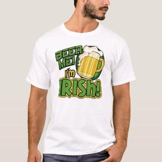 Cerveja mim eu sou camisa do dia de St Patrick do