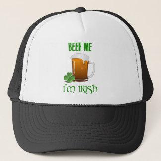 Cerveja mim eu sou irlandês boné