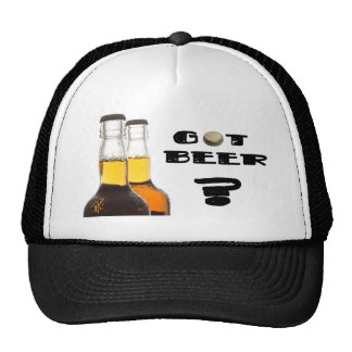 Cerveja obtida? boné