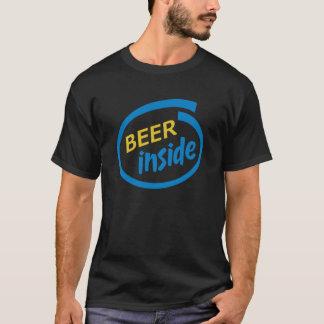 Cerveja para dentro camiseta