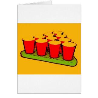 Cerveja Pong Cartão