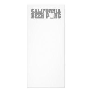 Cerveja Pong de Califórnia 10.16 X 22.86cm Panfleto