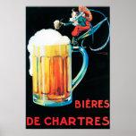 Cervejas do poster do promocional de Chartres