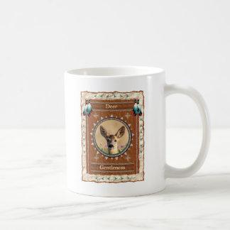 Cervos - caneca de café clássica do gentleness