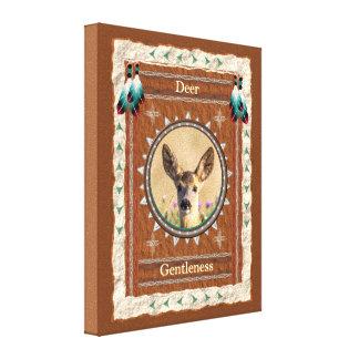 Cervos - canvas esticadas gentleness