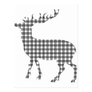 Cervos clássicos monótonos cartão postal