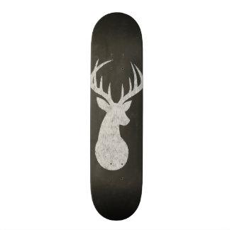 Cervos com o desenho de giz dos Antlers Shape De Skate 18,4cm