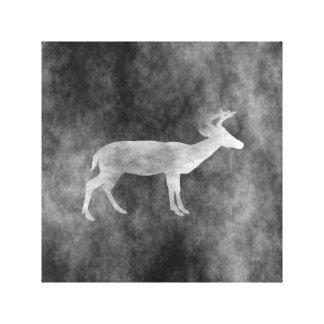 Cervos escuros do Grunge Impressão Em Tela