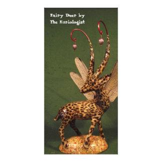 """""""Cervos feericamente"""" pelo Kuriologist Cartão Com Foto"""