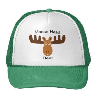 Cervos principais de Head_Moose dos alces Boné