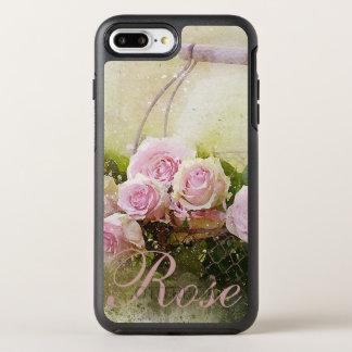 Cesta dos rosas capa para iPhone 7 plus OtterBox symmetry