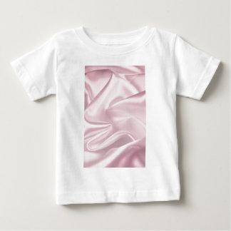 Cetim cor-de-rosa t-shirt