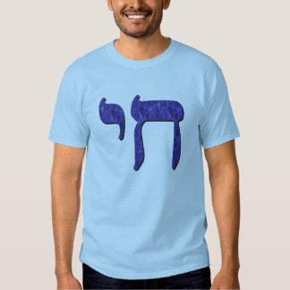 Cetim do azul de Chai Tshirts