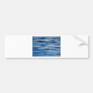 Céu azul da coleção das pinturas de Evitavic Adesivo Para Carro