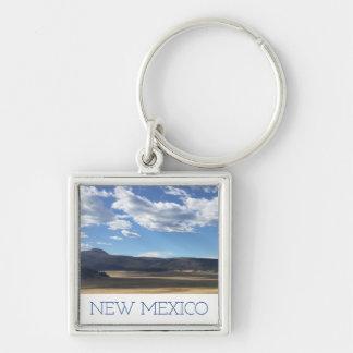 Céu azul de New mexico & chaveiro brilhantes das