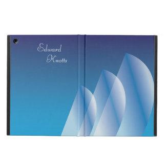 Céu azul translúcido da Tri Vela personalizado