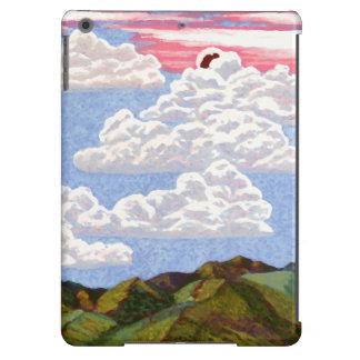 Céu bonito da arte da paisagem do caso do iPad de Capa Para iPad Air