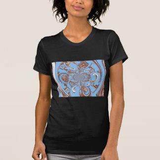 Céu Colo dos presentes de Hakuna Matata do safari  Camiseta