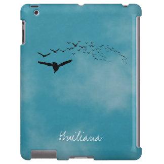 Céu com pássaros capa para iPad