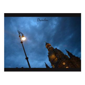 Céu de Dresden Cartão Postal