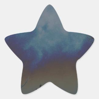 Céu de Psychadelic Adesito Estrela