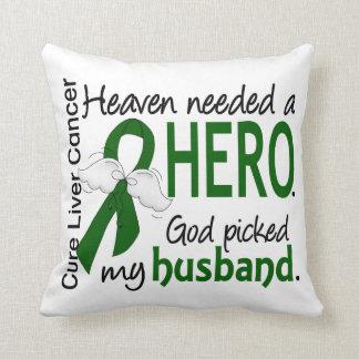 Céu do câncer de figado necessário um marido do almofada