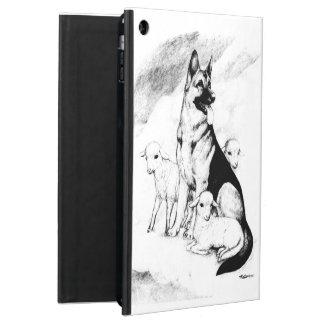 Céu do cão, o rebanho do mestre capa para iPad air
