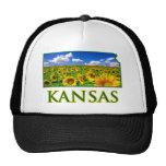 Céu do girassol de Kansas Bonés