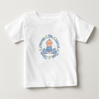 Céu do obrigado para rapazes pequenos camiseta para bebê