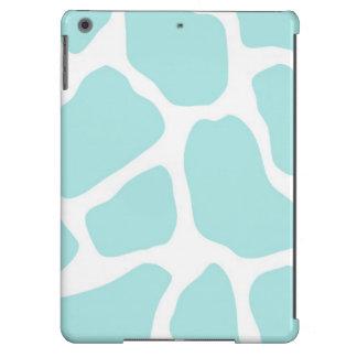 Céu e impressão branco do girafa capa para iPad air