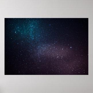 Céu estrelado bonito posters