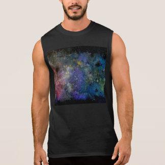 Céu estrelado cósmico - orion ou cosmos da Via Lác Camisetas Sem Manga