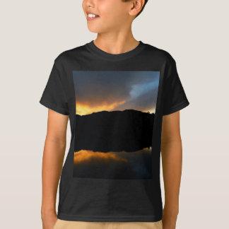 céu no espelho camiseta