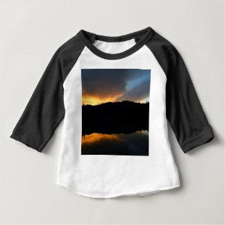 céu no espelho camiseta para bebê