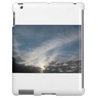 Céu quebrado capa para iPad