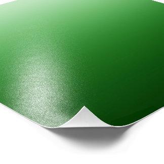 Céu verde impressão de foto