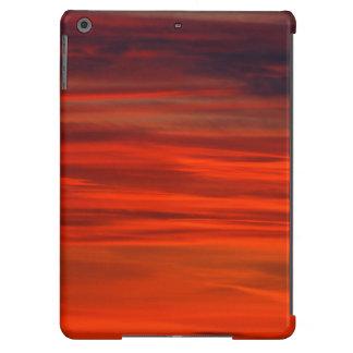 Céu vermelho capa para iPad air