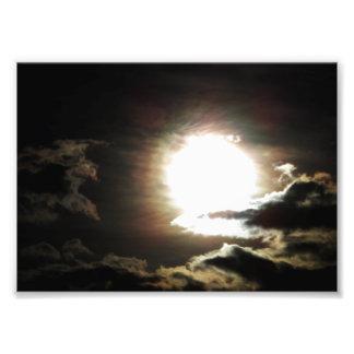 Céus escuros foto arte