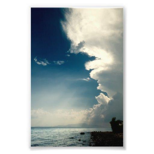 Céus tormentosos impressão fotográficas