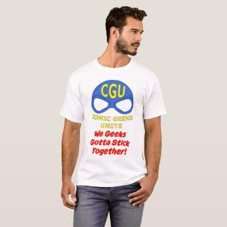 CGU que nós geeks conseguimos colar junto! Camisa