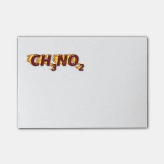 CH3NO2 - Nitro Post-it Note