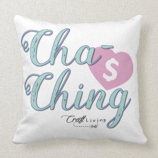 Cha-Ching Almofada