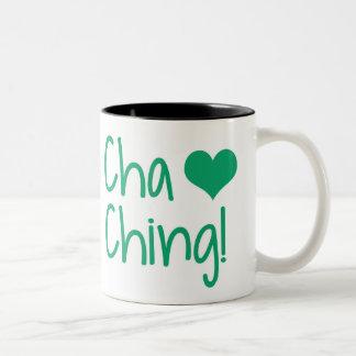 Cha Ching! - O vendedor de TpT inspirou a caneca