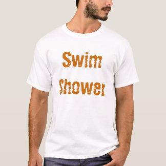 Chá da natação camiseta