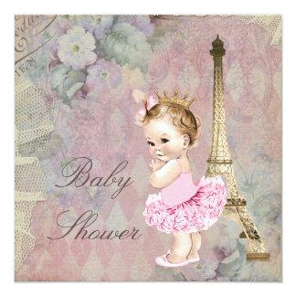 Chá de fraldas chique da princesa Bailarina Floral