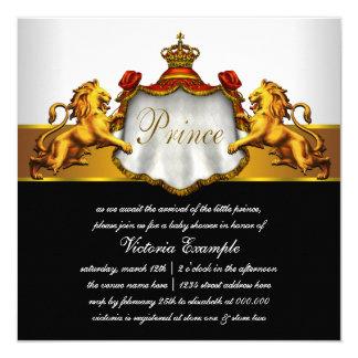 Chá de fraldas de RoyalPrince Convite Quadrado 13.35 X 13.35cm